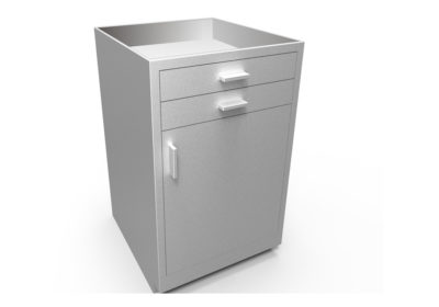 Base Cabinet with 2 Top Drawers, 1 Door, Optional Openings
