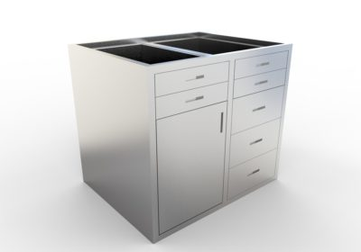 Base Cabinet – 7 Drawer, 1 Door, Various Lengths & Openings