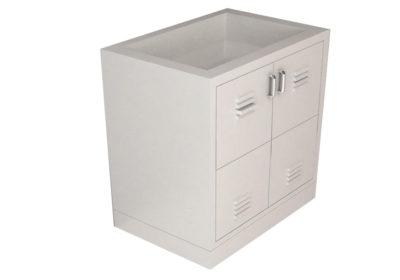 Acid Storage Base Cabinet – 2 Door, Various Widths