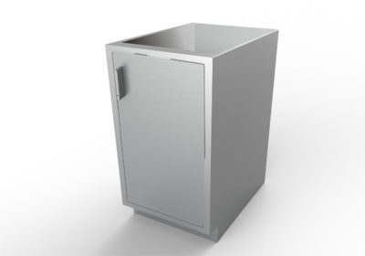 Base Cabinet with Optional Openings, Various Lengths