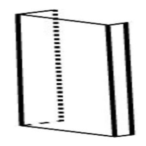 Rear Channel Filler, Various Dimensions