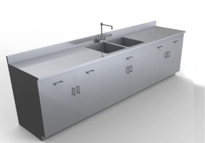 Base Cabinet with Sink 9 feet – LG100-108
