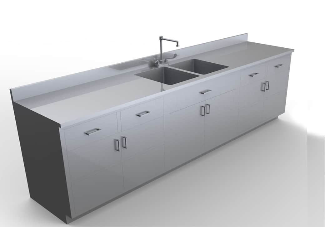 Base Cabinet with Sink 9 feet - LG100-108