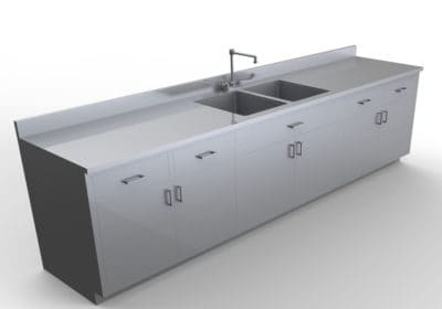 Base Cabinet with Sink 10 feet – LG100-120