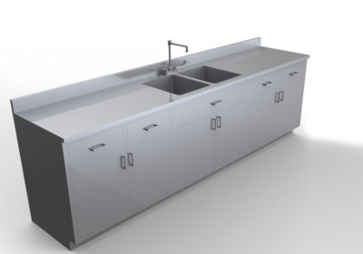 Base Cabinet with Sink 8 feet – LG100- 96
