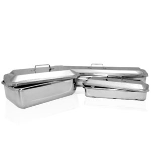 Instrument Tray & Cover Set, Various Sizes Available