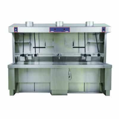 Grossing Station – Elevating, Shared Sink – MB670