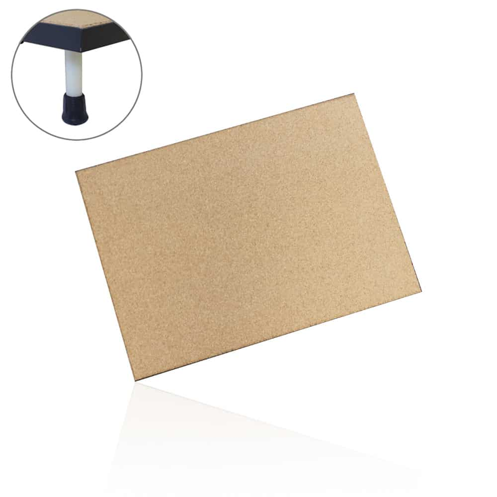 Neoprene Cork Dissecting Board with Optional Legs
