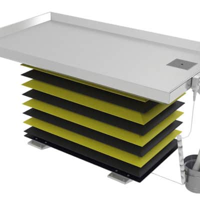 Trimming Table - Rectangular Large Animal with Lift