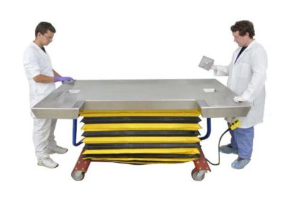 Trimming Table – Kidney Shaped Large Animal on Casters with Lift – OA111