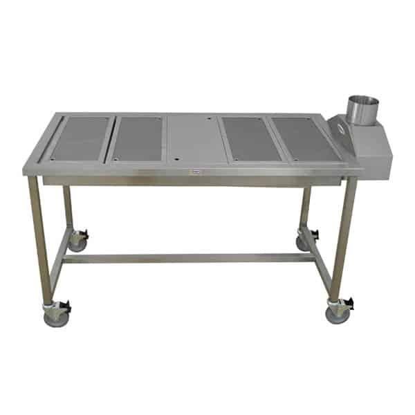 Animal Lift Table With Scale : Trimming table large animal elevating with downdraft