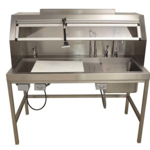 Workstation-Dissection Table, Right Sink 60 – OF100