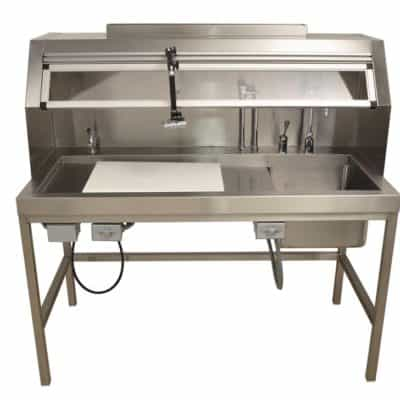 Workstation-Dissection Table, Right Sink 60