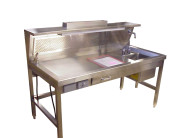 Workstation-Dissection Table, Right Sink 84