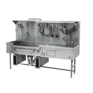 Embalming Sink – Left or Right Approach