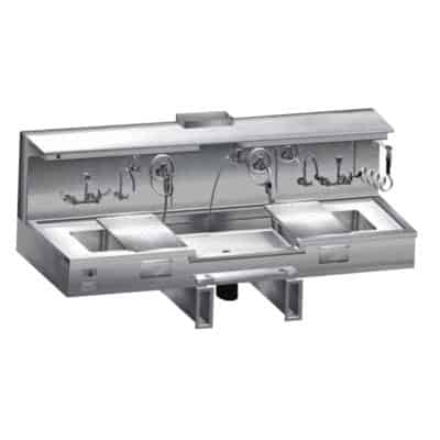 Embalming Sink with Center Approach – CF300
