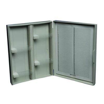 Slide Box, Plastic, Holds 100 Slides – BH010