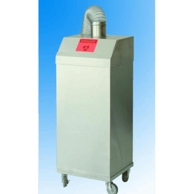 Ventilated Trash Container On Wheels – MO050