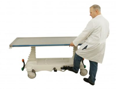 Elevating Hydraulic Cadaver Carrier – JA620