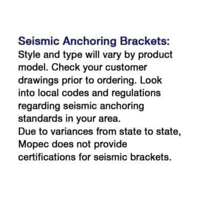 Seismic Anchoring Bracket – SA100