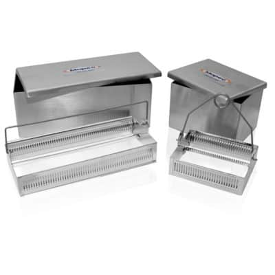 Staining Dish & Tray Set, Stainless Steel