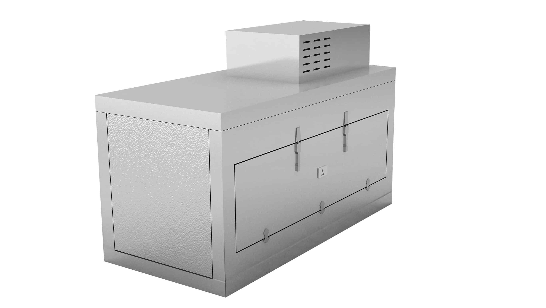 Morgue Refrigerator (1 BODY) - Side opening (Conveyor Style)