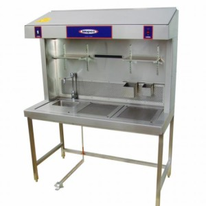 Workstation-Dual Draft  Exhaust with Drain Chamber-60 – OE300