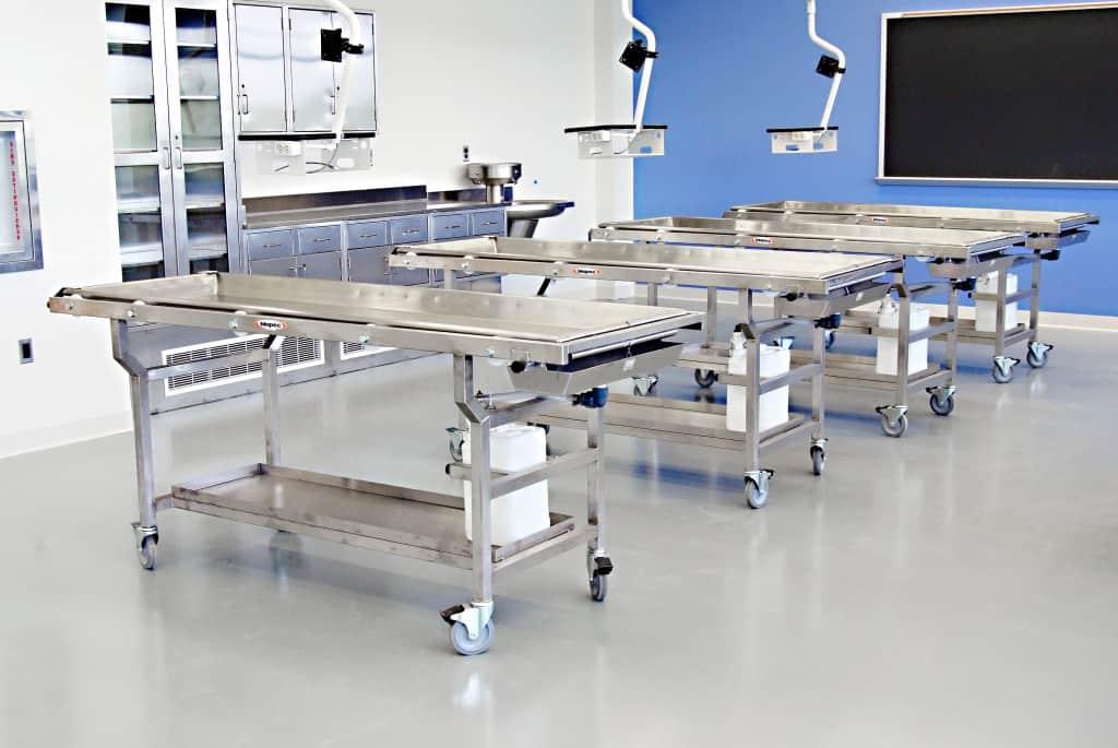 Custom Anatomy Lab Equipment and Planning