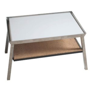 Dissecting Table w/ Shelf, Stainless Steel – BC125