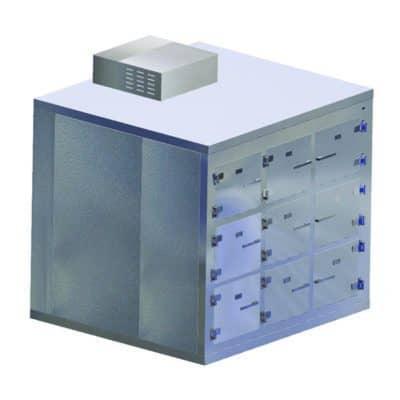 Morgue Refrigerator (9 Body) End Opening (Telescoping) – KA600