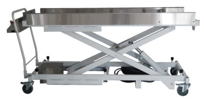 Roller Single Scissor Lift with Handle-Mounted Controls – JD800