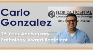 carlo 25 year pathology award