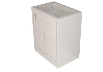 Dead Corner Cabinet, Optional Openings