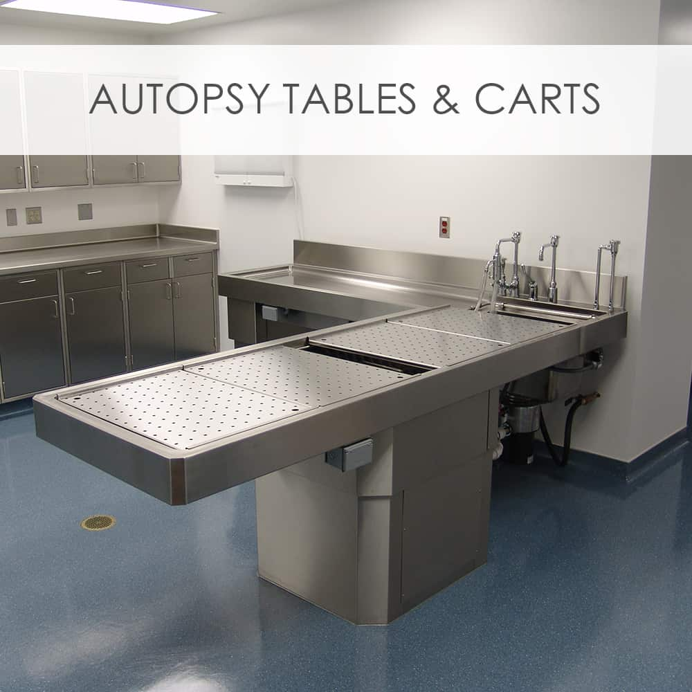 Autopsy Tables & Carts