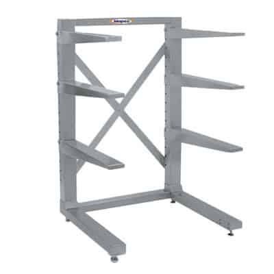 Stationary Cantilever Storage Rack, Various Tiers & Arm Lengths – IA Series