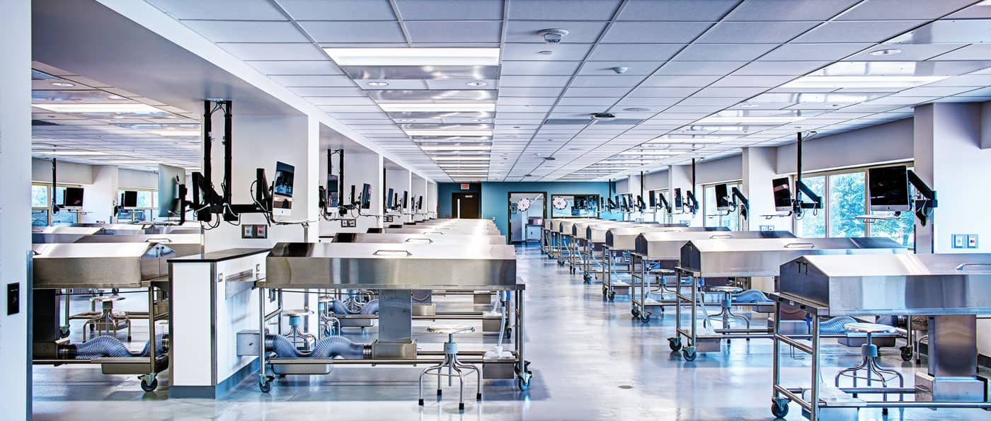 Mopec Oakland University Anatomy Lab