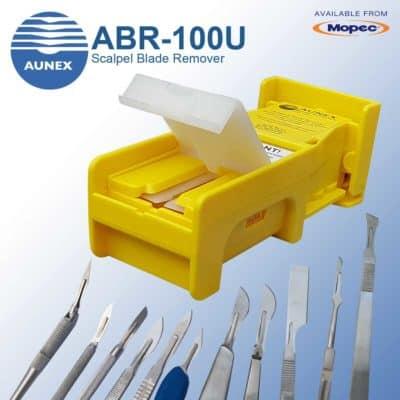 One-Handed Aunex Scalpel Blade Remover ABR-100U