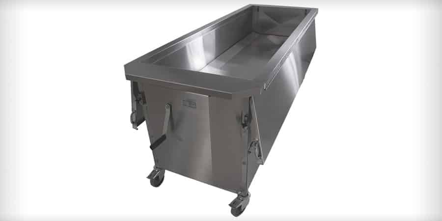 Mopec Dip Tank Dissection Table for Anatomy Labs