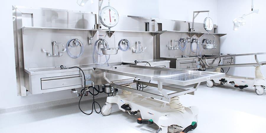 Mopec Autopsy Sinks