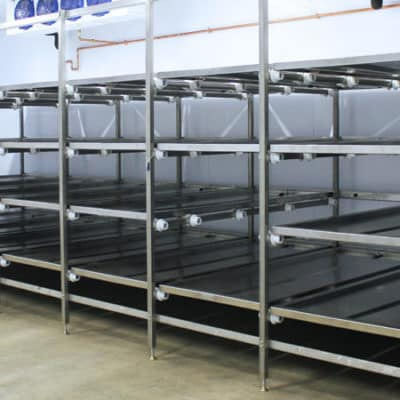 Cadaver Storage Racks