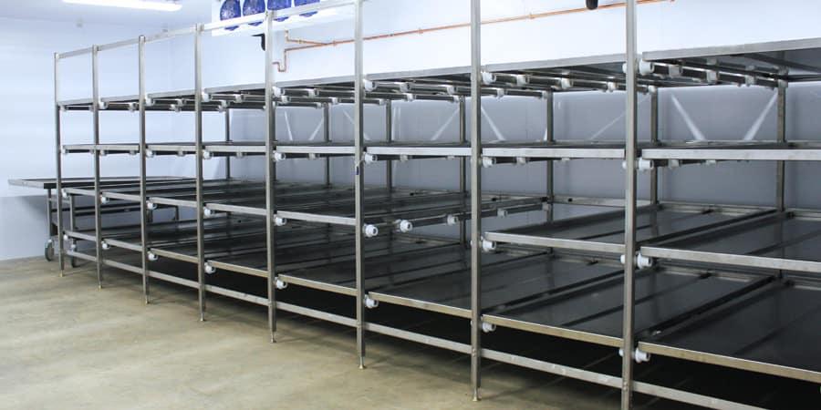 Mopec Cadaver Storage Racks
