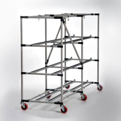 Collapsable Cadaver Storage Racks