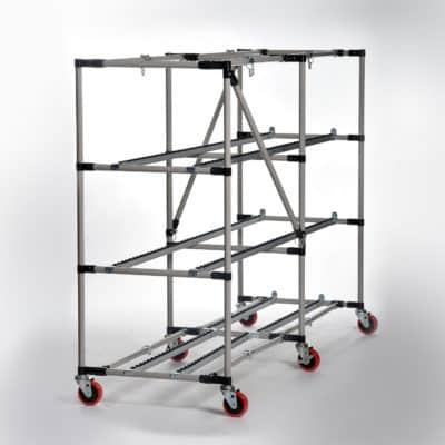 Collapsable Cadaver Storage Racks