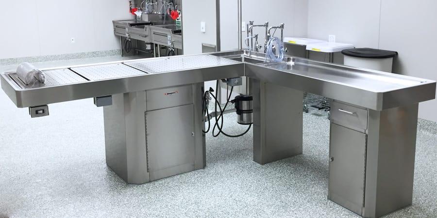 Mopec Autopsy Pedestal Table