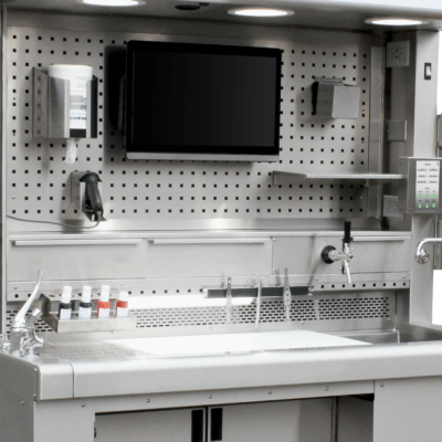 Ensemble Pegboard Grossing Station Accessories