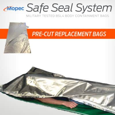 Mopec Safe Seal Pre-Cut Replacement Bags