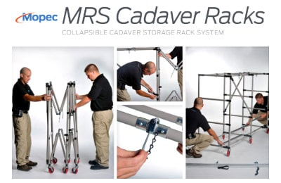 Mopec Collapsible Cadaver Racks