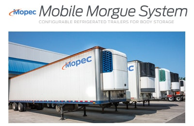 Mopec Mobile Morgue Trailer