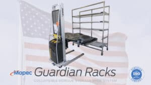 Mopec Guardian Racks for Morgues