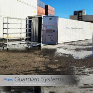 Guardian Body Storage Container
